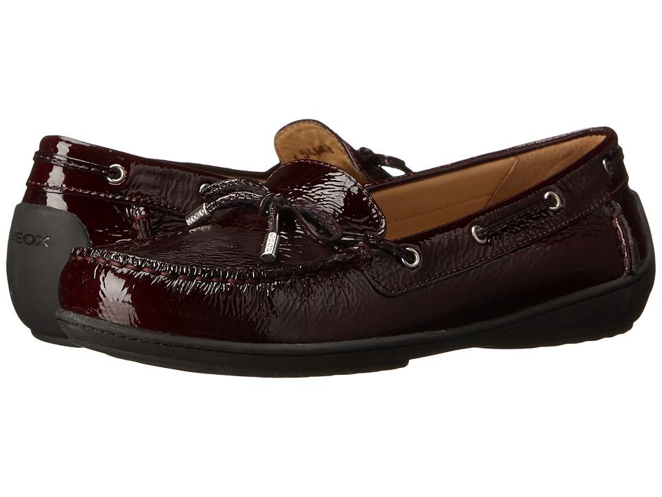 Geox - WJAMILAH2FIT6 (Bordeaux) Women's Shoes