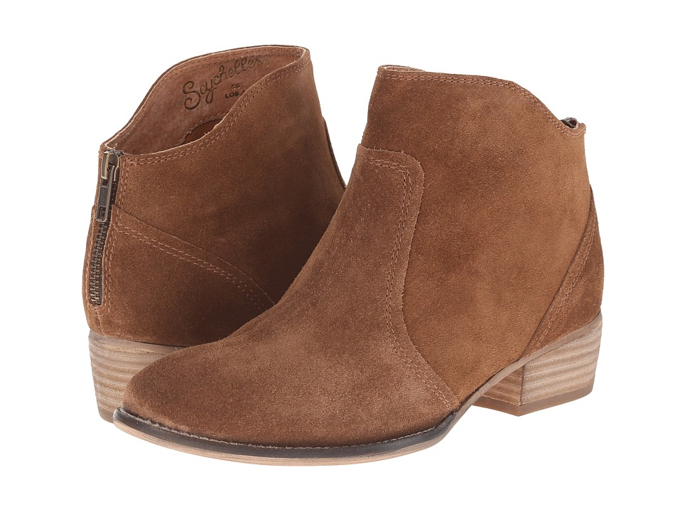 Seychelles - Reunited (Tan Suede) Women's Zip Boots