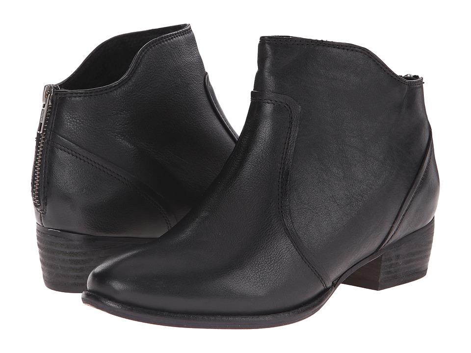Seychelles - Reunited (Black Leather) Women's Zip Boots