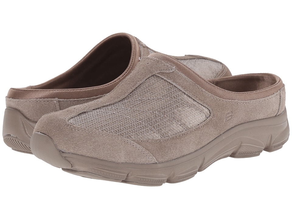 SKECHERS - Comfy Living (Taupe) Women's Clog Shoes