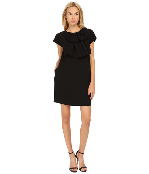 Kate Spade New York - Bow Shift Dress (Black) Women