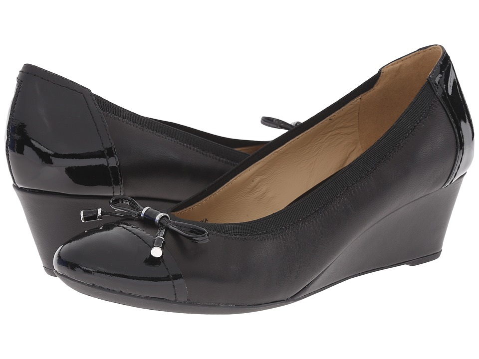 Geox - WFLORALIE17 (Black) Women's Shoes