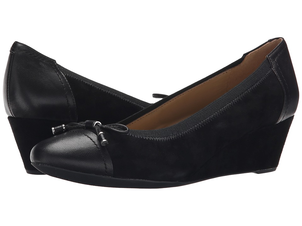 Geox - WFLORALIE16 (Black) Women's Shoes