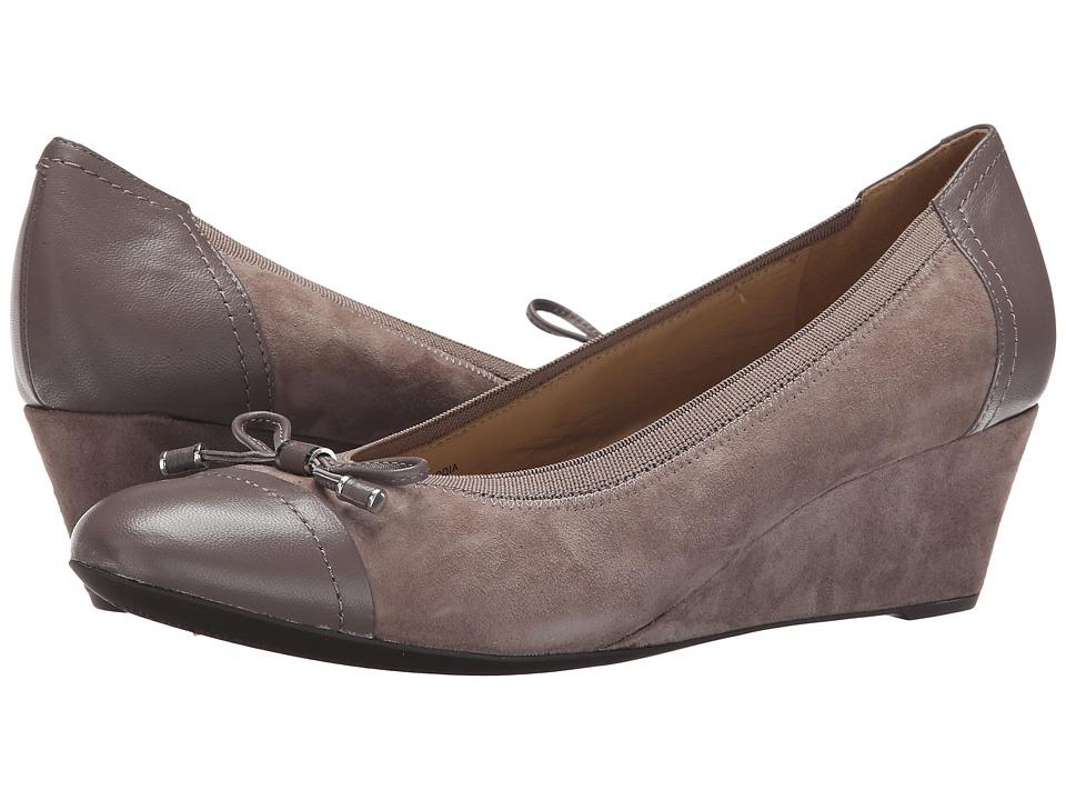 Geox - WFLORALIE16 (Smoke Grey) Women's Shoes