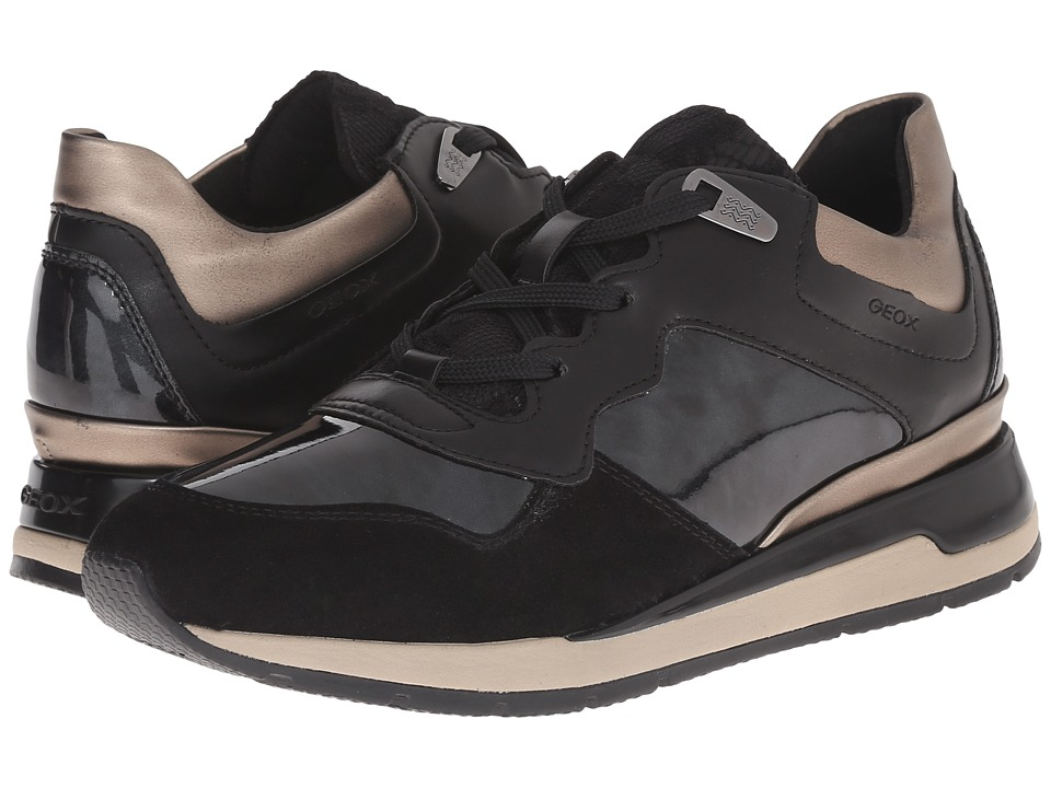 Geox - WSHAHIRA13 (Black) Women's Shoes
