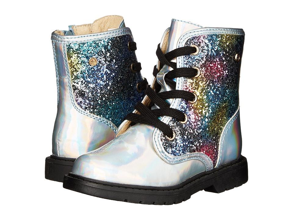Naturino - Nat. 3916 (Toddler/Little Kid/Big Kid) (Silver Multi) Girls Shoes