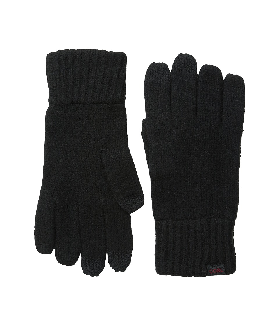 Coal - The Randle Glove (Black 1) Wool Gloves
