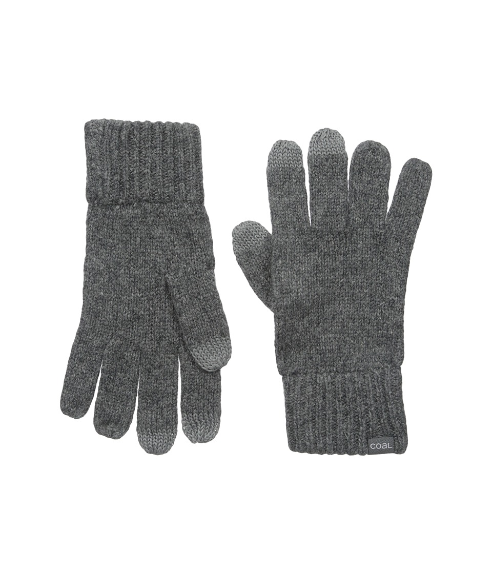 Coal - The Randle Glove (Charcoal) Wool Gloves