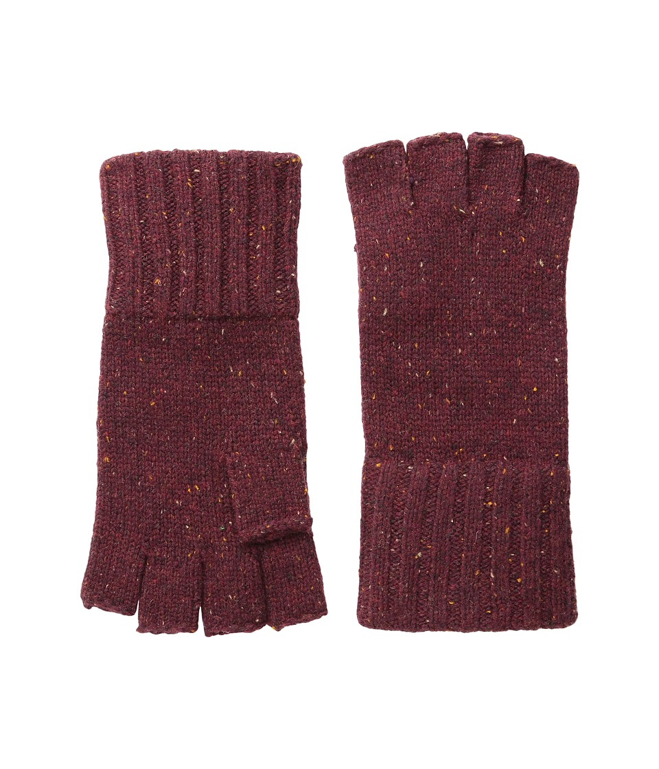 Coal - The Taylor Fingerless Glove (Burgundy) Dress Gloves
