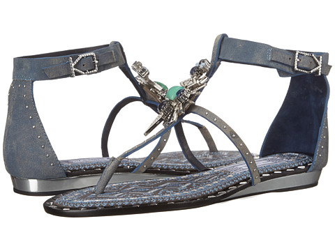 IVY KIRZHNER - Babel (Denim) Women's Sandals