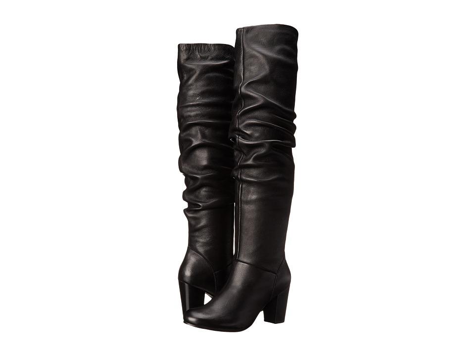 Seychelles Larimar (Black Leather) Women