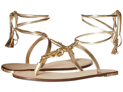 Lilly Pulitzer - Pier Sandal (Gold Metallic) Women's Sandals