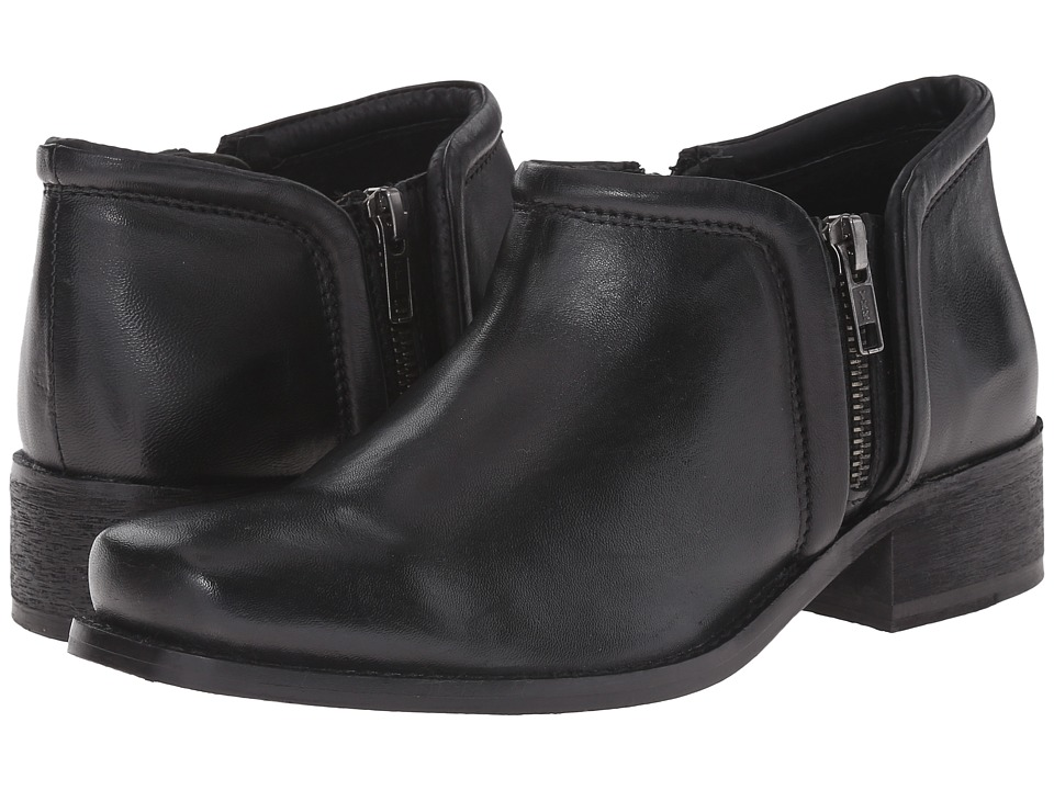 Seychelles - Tanzanite (Black Leather) Women's Zip Boots