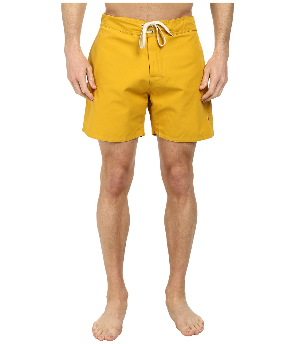 Lightning Bolt - Plain Crane Boardshorts (Nugget Gold) Men