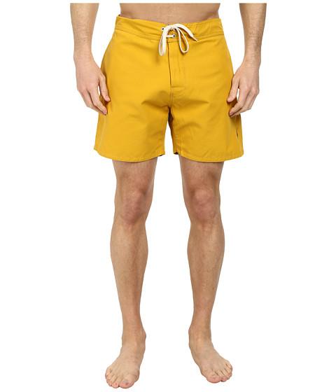 Lightning Bolt - Plain Crane Boardshorts (Nugget Gold) Men's Swimwear