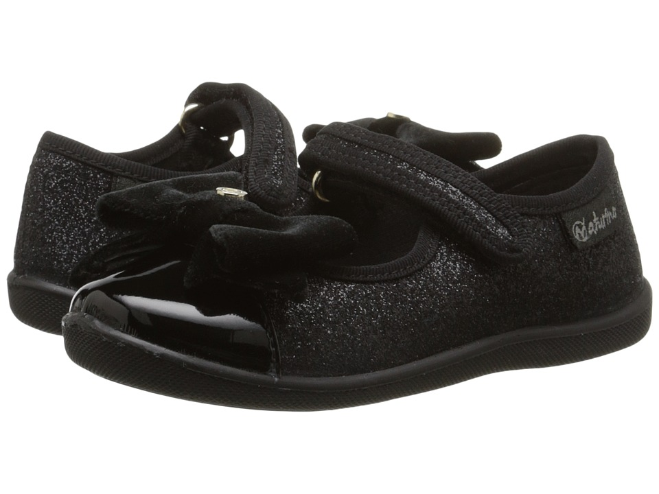 Naturino - Nat. 8083 (Toddler/Little Kid) (Black) Girls Shoes