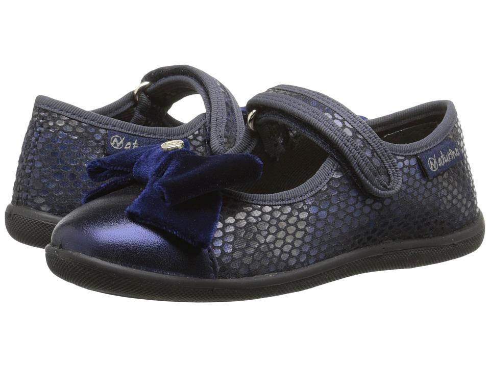Naturino - Nat. 8083 (Toddler/Little Kid) (Blue) Girls Shoes