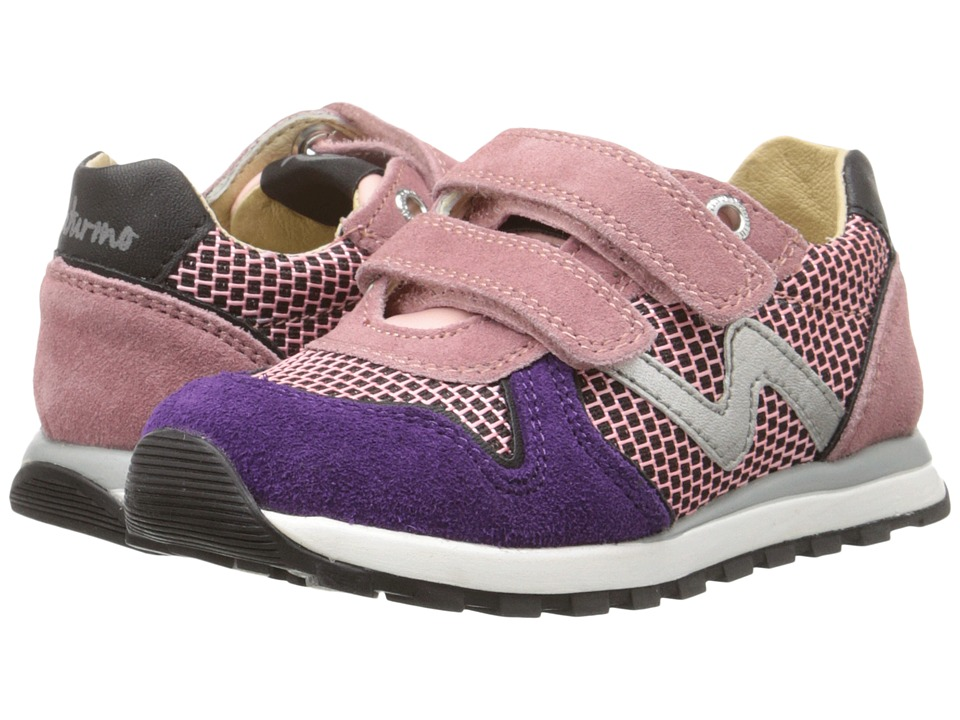 Naturino - Nat. Bomba (Toddler/Little Kid) (Pink) Girl's Shoes