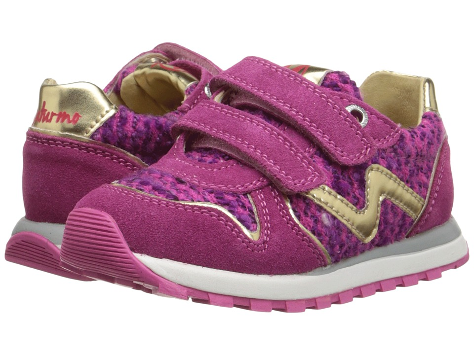 Naturino - Nat. Bomba (Toddler/Little Kid) (Fuchsia) Girl's Shoes