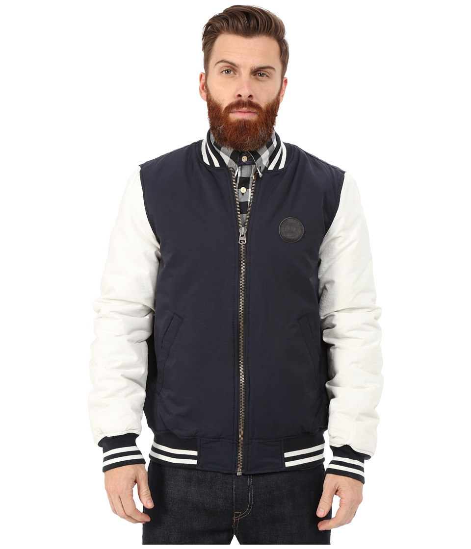 Lindbergh - Varsity Jacket (Navy) Men's Coat