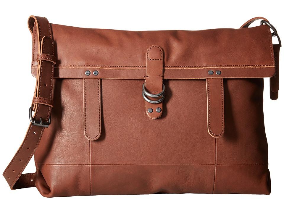 Lucky Brand - Dempsey Messenger (Brandy) Messenger Bags