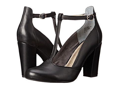 Seychelles - Trumpet (Black Leather) High Heels