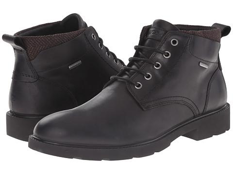 Geox - MRUBBIANOBABX4 (Black) Men's Boots