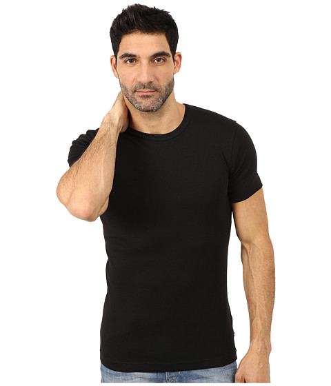 Lindbergh - Basic T-Shirts (Black) Men's T Shirt