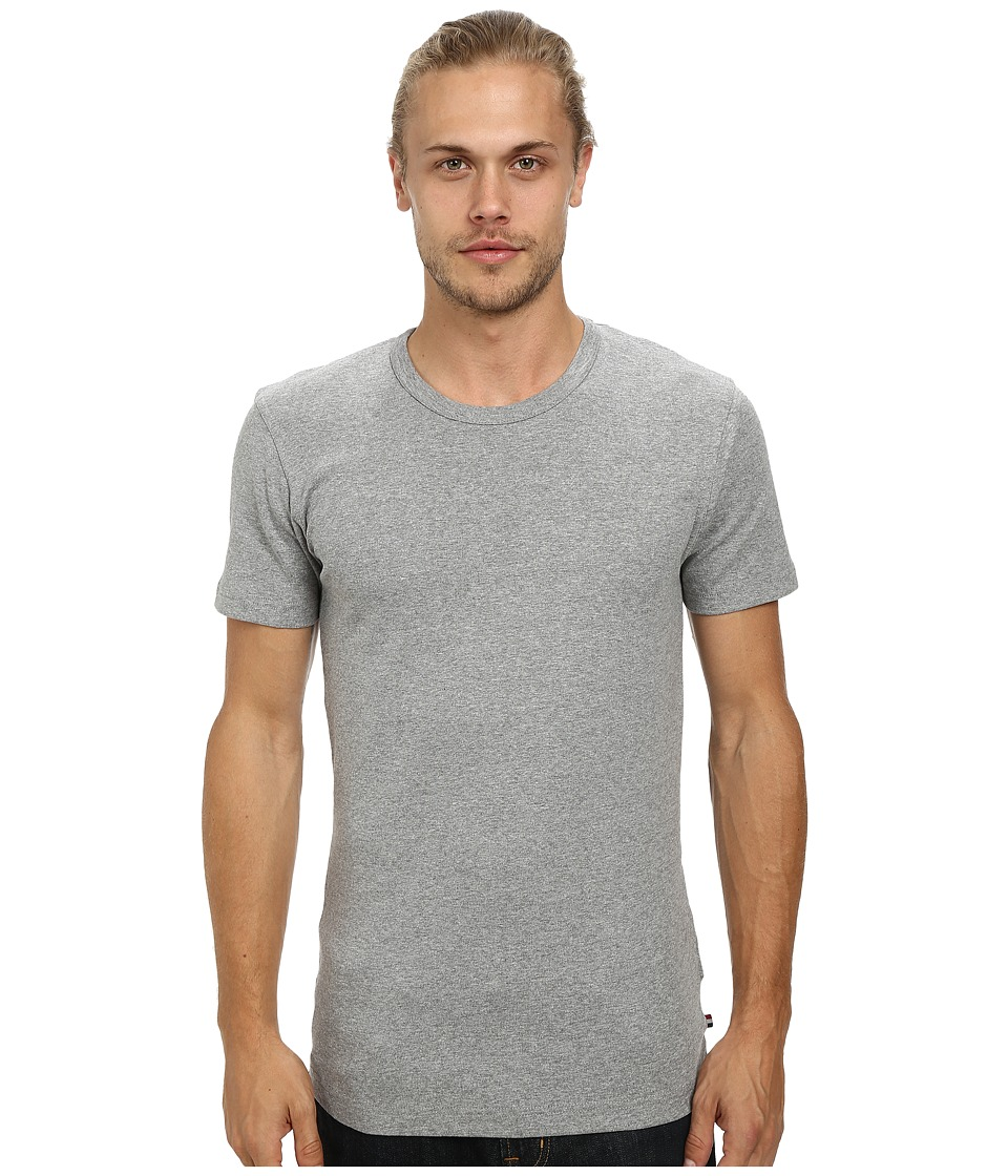 Lindbergh - Basic T-Shirts (Grey Melange) Men's T Shirt