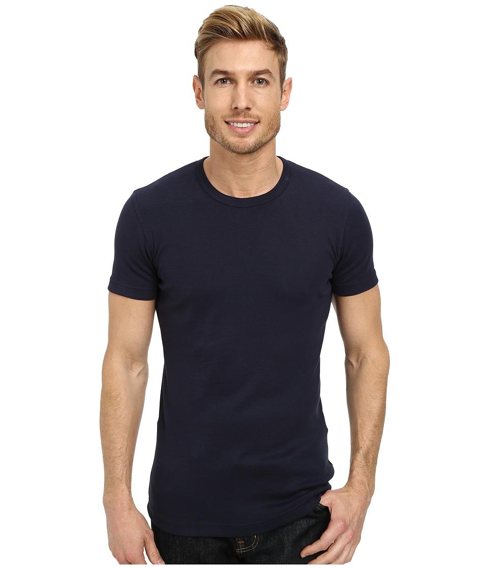 Lindbergh - Basic T-Shirts (Navy) Men's T Shirt
