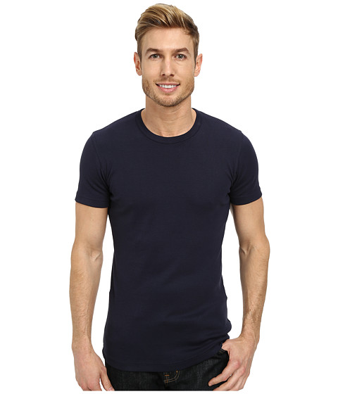 Lindbergh - Basic T-Shirts (Navy) Men