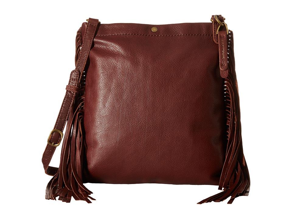 Lucky Brand - Rickey Crossbody (Brandy) Cross Body Handbags