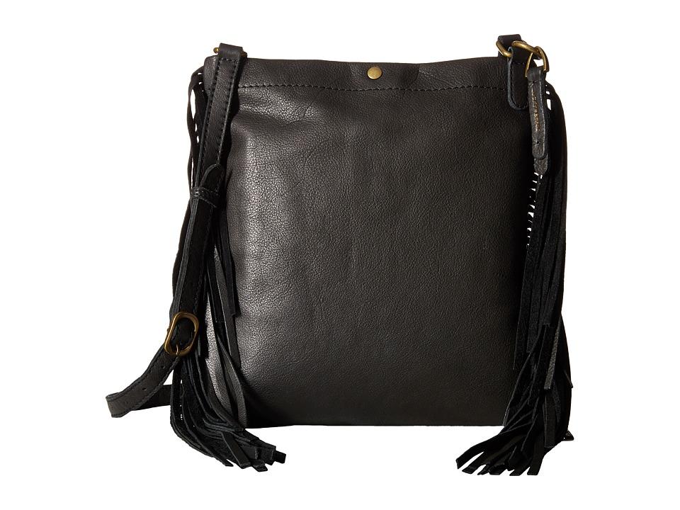Lucky Brand - Rickey Crossbody (Black) Cross Body Handbags