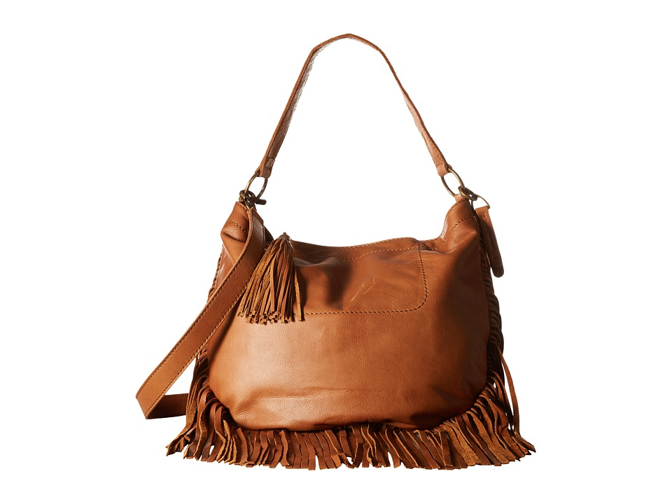 Lucky Brand - Rickey Crossbody Hobo (Tobacco) Hobo Handbags
