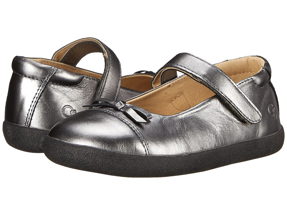 Old Soles - Sista Flat (Toddler/Little Kid) (Rich Silver) Girl's Shoes