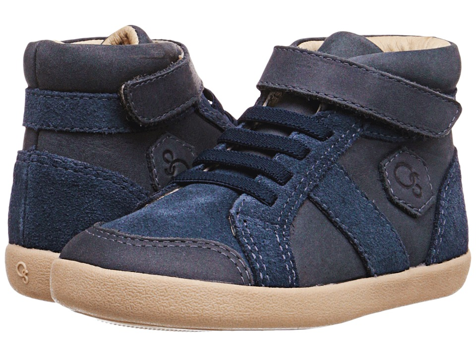 Old Soles - Taller (Toddler/Little Kid) (Distressed Navy) Boy's Shoes