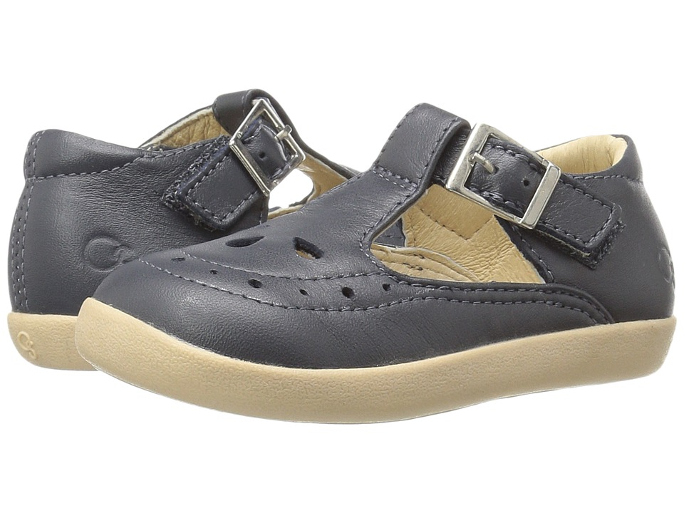 Old Soles - Tea Shoe (Toddler/Little Kid) (Navy) Girls Shoes