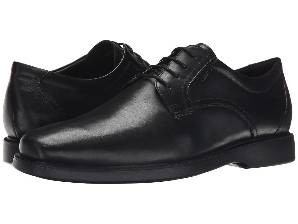 Geox - MBRAYDEN2FIT1 (Black) Men's Shoes