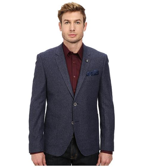 Lindbergh - Twill Weave Blazer (Dark Blue) Men's Jacket