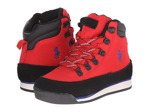 Polo Ralph Lauren Kids - Blitz Hiker (Little Kid) (Red Cordura Nylon) Boy's Shoes