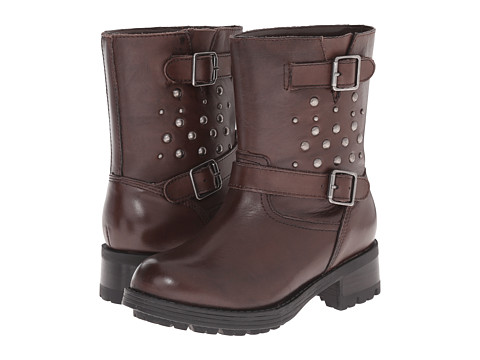 Polo Ralph Lauren Kids - Biker Boot (Little Kid) (Brown Leather) Boys Shoes