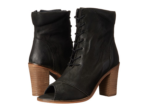 Seychelles - Stun (Black) Women's Lace-up Boots