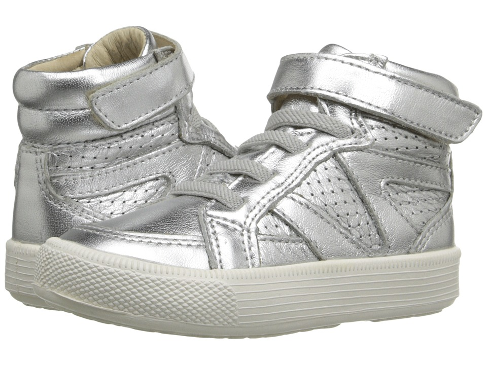Old Soles - Star Jumper (Toddler/Little Kid) (Silver/White Sole) Kid's Shoes
