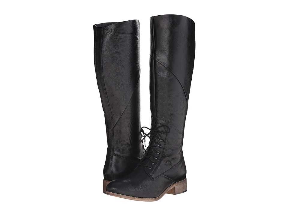 Seychelles - Serpentite (Black Leather) Women's Zip Boots