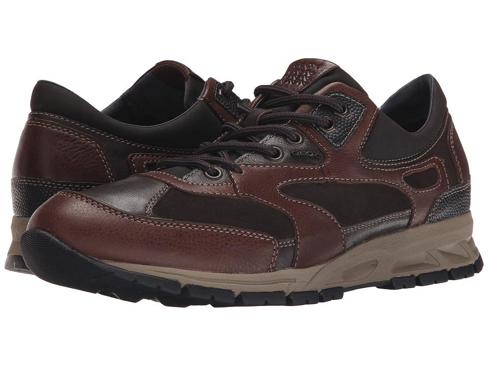 Geox - MDELRAY1 (Dark Brown/Coffee) Men's Shoes