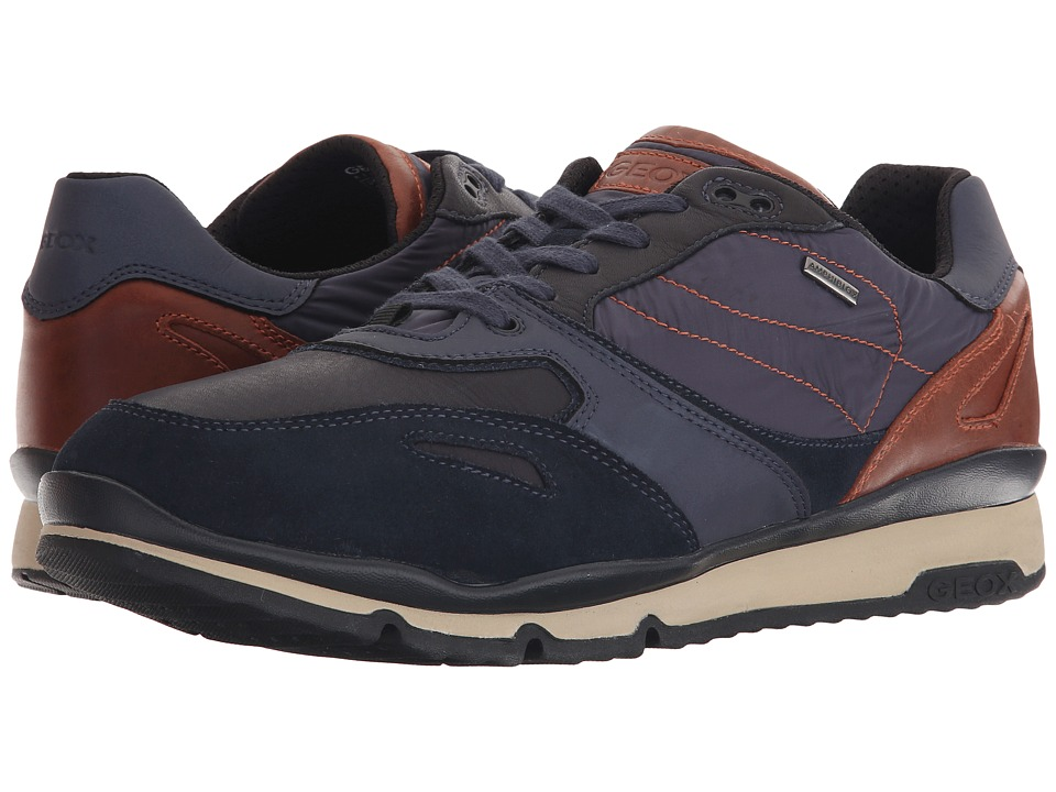 Geox - MSANDROBABX1 (Navy/Caramel) Men's Shoes