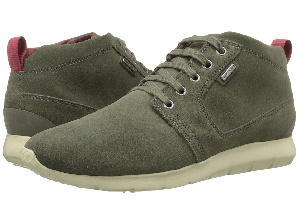 Geox - MGEKTORBABX1 (Olive) Men's Lace up casual Shoes