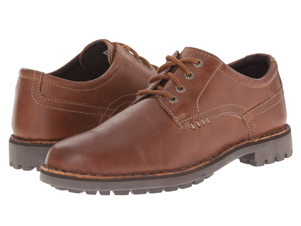 Sebago - Metcalf Plain Toe (Tan Leather) Men's Plain Toe Shoes