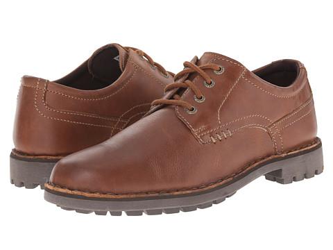 Sebago - Metcalf Plain Toe (Tan Leather) Men's Plain Toe Shoes