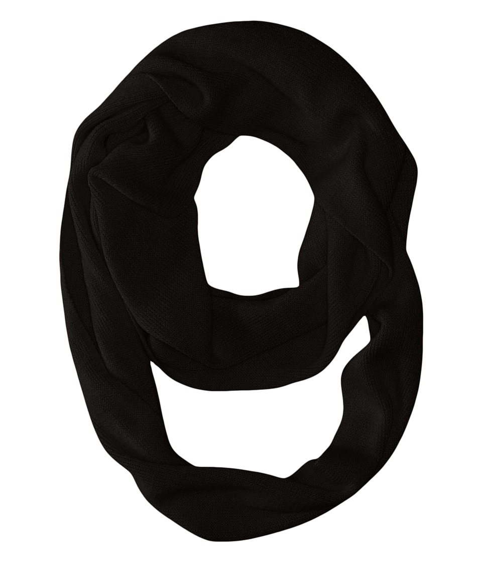 Coal - The Julietta Eternity Scarf (Black) Scarves
